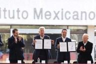 Acuerdo entre SCT y Queretaro. Imagen: SCT.