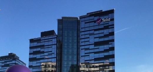 Oficinas Centrales de Telia Company en Suecia. Imagen: Telia