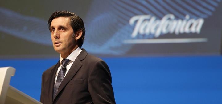 José María Álvarez-Pallete. Imagen: Telefónica