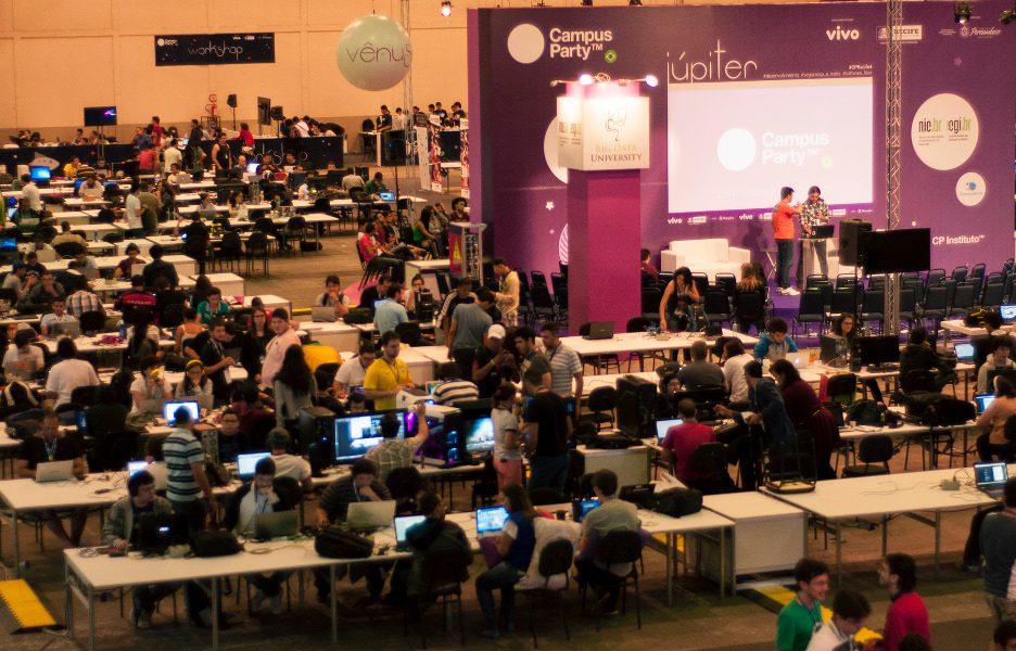 Foto da última edição da Campus Party realizada no Recife (Foto: Divulgação / Jessica Pimentel)
