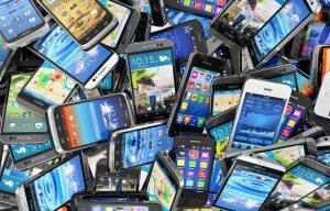 celulares smartphones pilha quantidade android ios