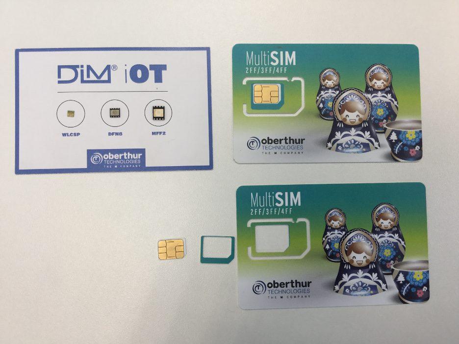 eSIM x SIM card oberthur