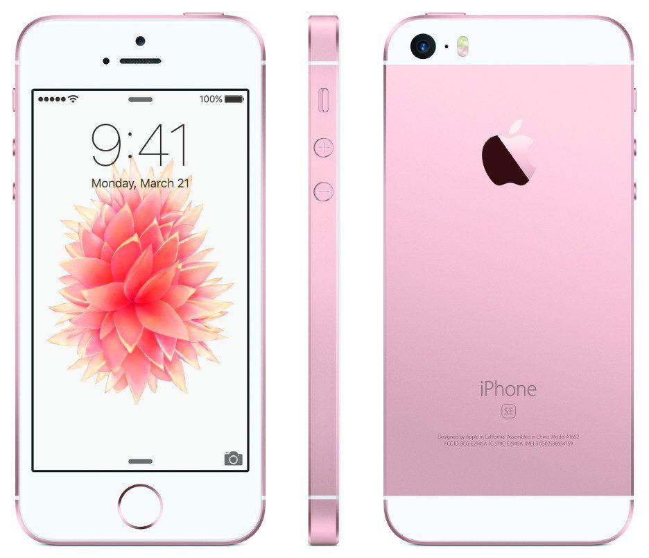 iphone se 4 polegadas apple smartphone ios rosa