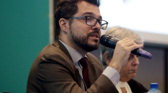 Abraão Balbino e Silva | Encontros Tele.Síntese 51 - 21/11/17 – Brasília-DF | Foto: Gabriel Jabur