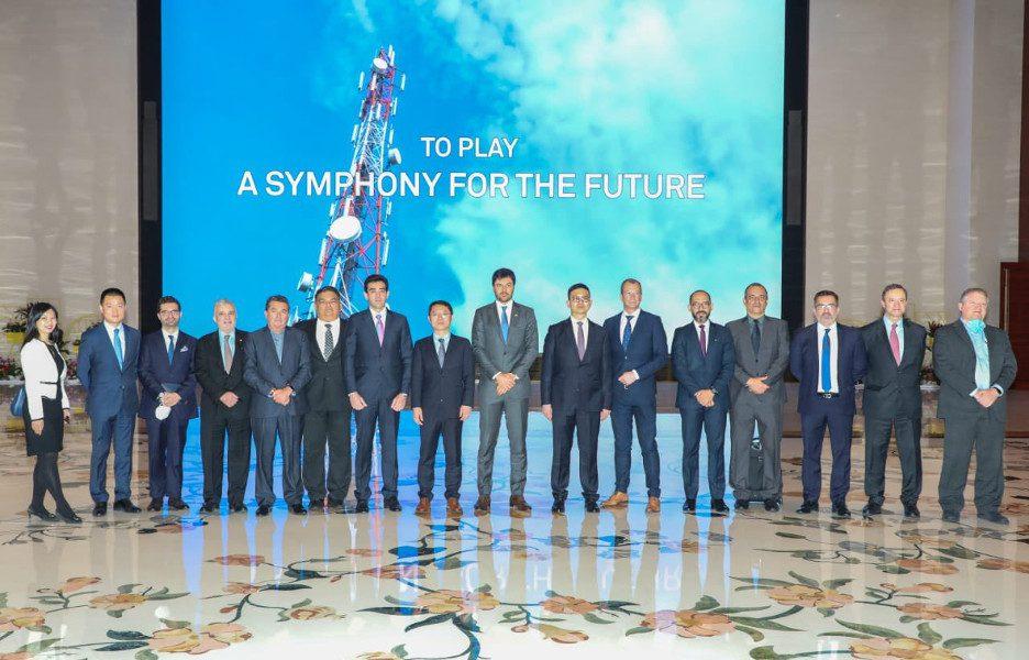 Na foto, comitiva do Minicom e do TCU visita a sede da Huawei em Shenzhen, na China