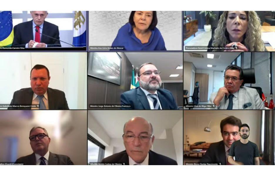 Plenário Extraordinária TCU - Sessão 18-08-2021 - Foto: Diivulgação
