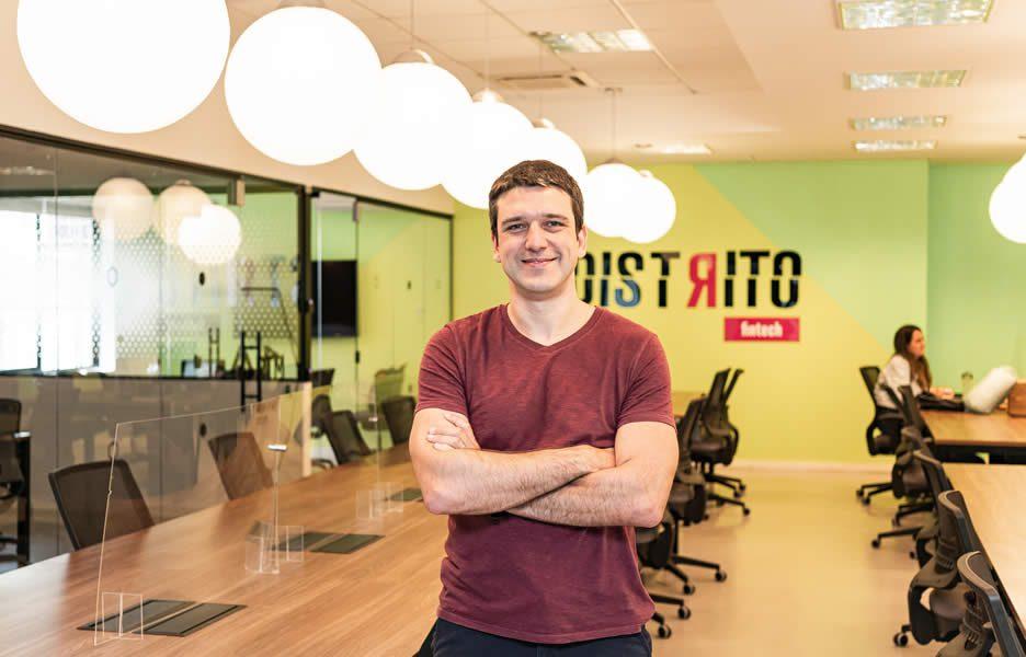 Gustavo Araújo, CEO do Distrito – Crédito: Divulgação