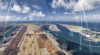 Estudo levou em consideração resultados de grandes portos do mundo, como os de Rotterdam, Cingapura e Hamburg - crédito: divulgação