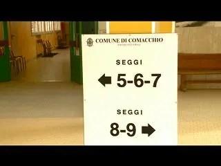 Elezioni Comacchio, verso il ballottaggio Pierotti-Fabbri