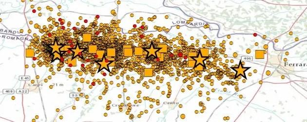 Terremoto nella notte: scossa di magnitudo 4.3