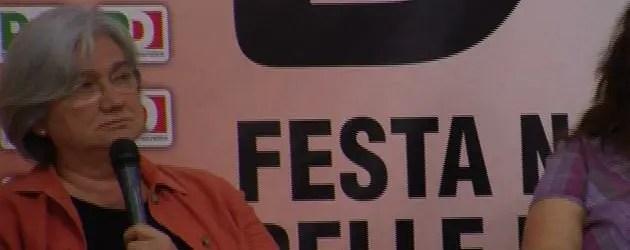 Festa delle Donne del PD: chiusura con Rosy Bindi