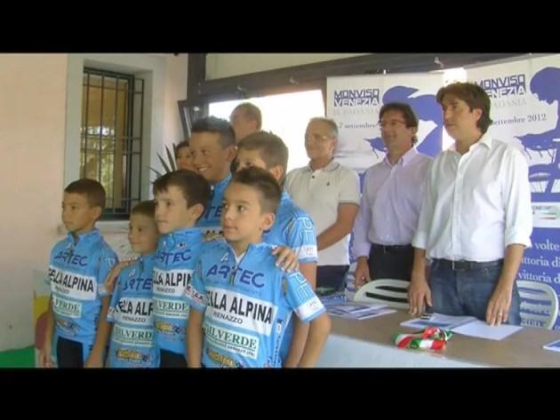 """Presentata gara ciclistica """"Il Padania"""""""