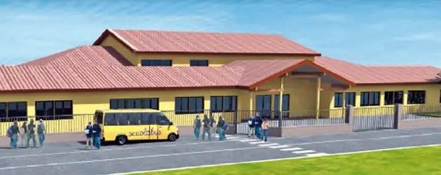 Sisma, Sant'Agostino: prima pietra per la nuova scuola