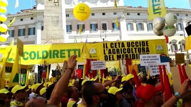 Coldiretti: stop al Ceta fino a settembre – VIDEO
