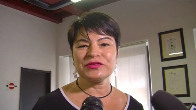 Il sindaco di Codigoro, Alice Sabina Zanardi