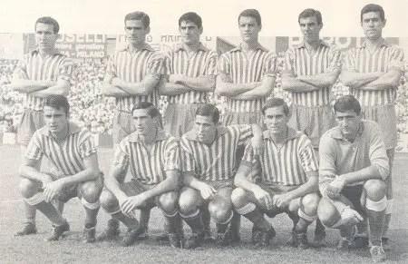 La SPAL promossa in Serie A al termine del campionato 1964-1965 (da Wikipedia)