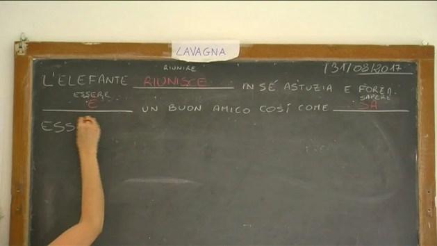 Accoglienza, profughi a scuola di italiano – VIDEO