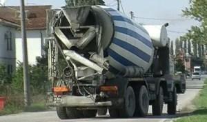 betoniera traffico lavori cantiere cantieri
