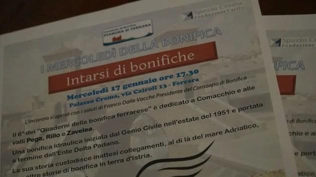 Comacchio, le strade di Valle Pega nella storia della bonifica – VIDEO