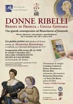 """""""Tiziano e Giulia Gonzaga"""": presentazione del libro a Casa Romei"""