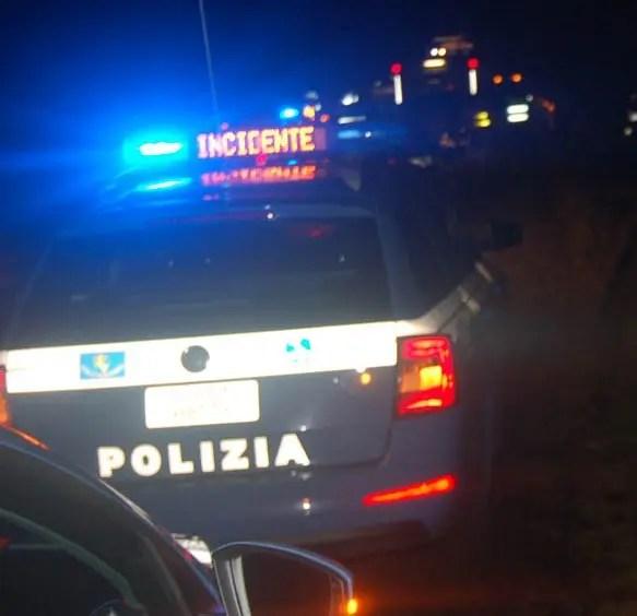 Fuga dopo l'incidente, 70enne ferrarese denunciato dalla Polizia