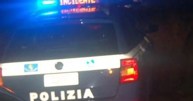 polizia incidente stradale