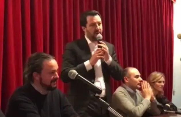 """Elezioni, Salvini a Ferrara e a Cento: """"E-R potrebbe serbare sorprese alle urne"""""""