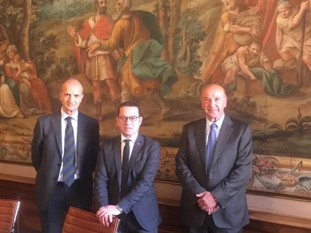 Il Prefetto di Ferrara in visita alla Città di Cento