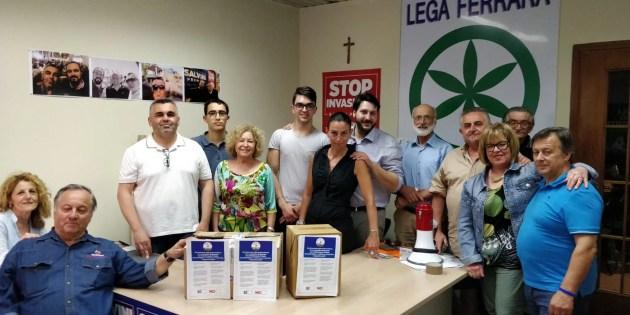 Accordo Governo Lega-M5S: Ferrara vota sì