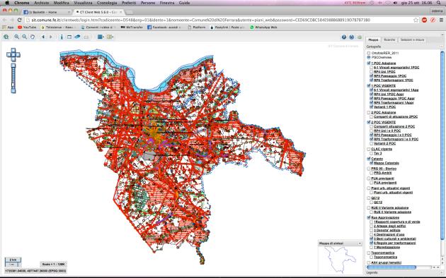 La 'scheda urbanistica', nuovo servizio on-line rivolto a professionisti ma anche cittadini