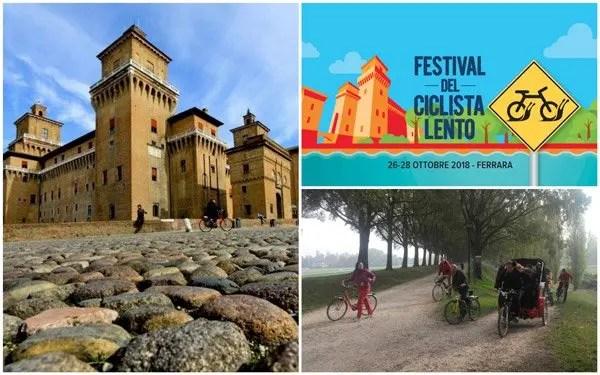 A Ferrara c'è il Festival del Ciclista Lento