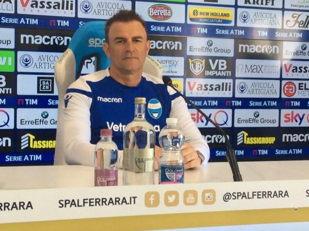 SPAL: per Semplici a Frosinone indispensabile far tesoro del match di andata