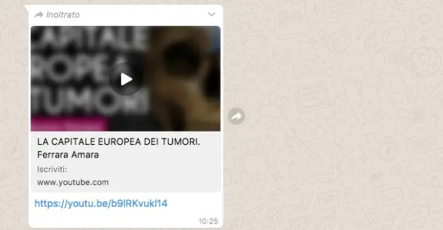 "Video ""Ferrara capitale europea dei tumori"", ass. Ferri: ""Affermazioni senza fondamento"""