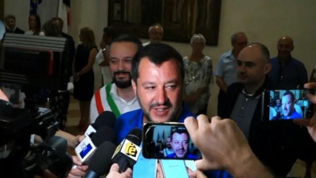 """Ministro Salvini a Ferrara: """"Sarò qui spesso"""" – INTERVISTA"""