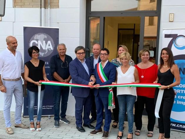Inaugurata a Migliarino la nuova casa delle imprese: Cna investe sul territorio