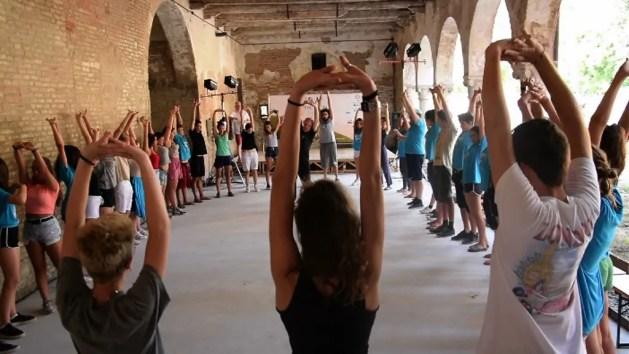 Tenda Summer School, l'entusiasmo di cento giovani attori – VIDEO