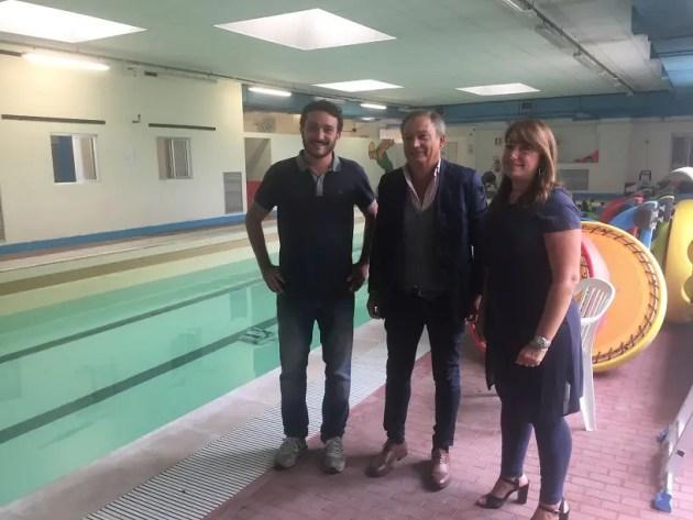 """Ecco la """"nuova"""" piscina di via Pastro"""
