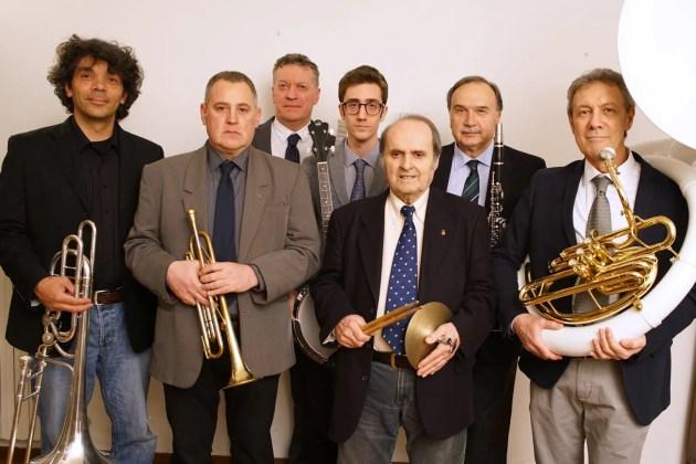 La Roaring twenties jazz band suona con Ellade Bandini al Roverella 2000
