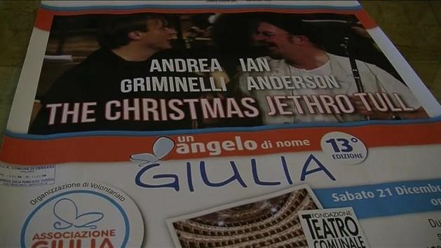 """""""Un angelo di nome Giulia"""" con i Jethro Tull e il Maestro Griminelli – VIDEO"""