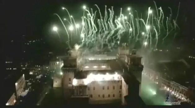 Il Capodanno in centro a Ferrara: incendio del Castello – HIGHLIGHTS e VIDEO INTEGRALE