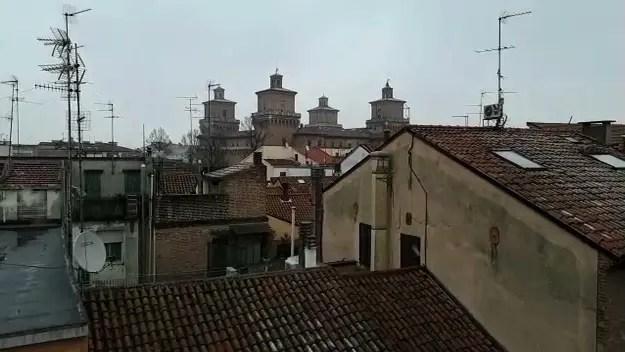 Prima neve su Ferrara – VIDEO