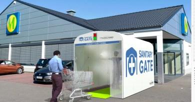 sanitary gate - 2
