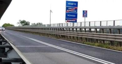 confine Ferrara e Rovigo ponte po