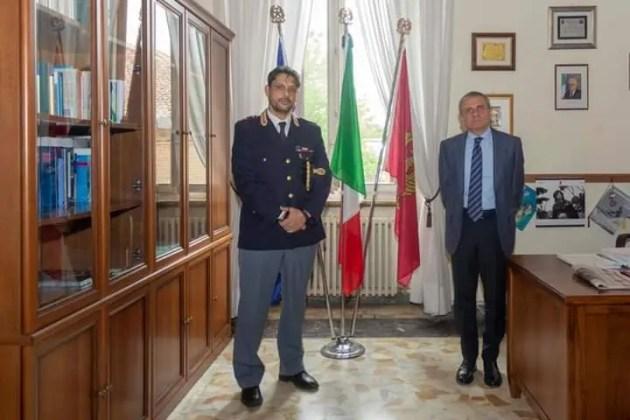 E' arrivato il nuovo dirigente della squadra mobile di Ferrara, Dario Virgili