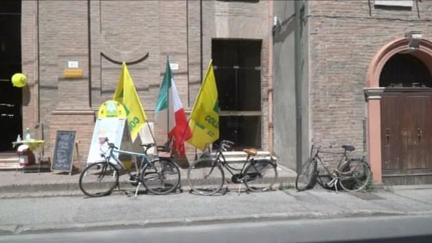 Ferrara: Coldiretti, accordo con Fiab per la spesa in bici con sconto – VIDEO