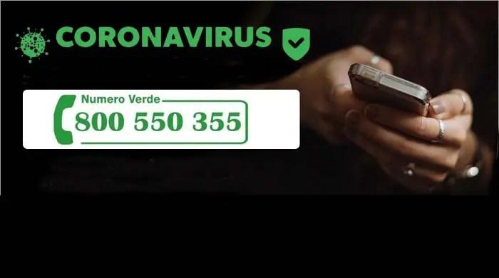 Numero Verde Covid Ferrara