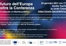 """""""Il futuro dell'Europa"""": brevi video per un dibattito pubblico il 29 gennaio alle 17 sul canale YouTube di Unife"""