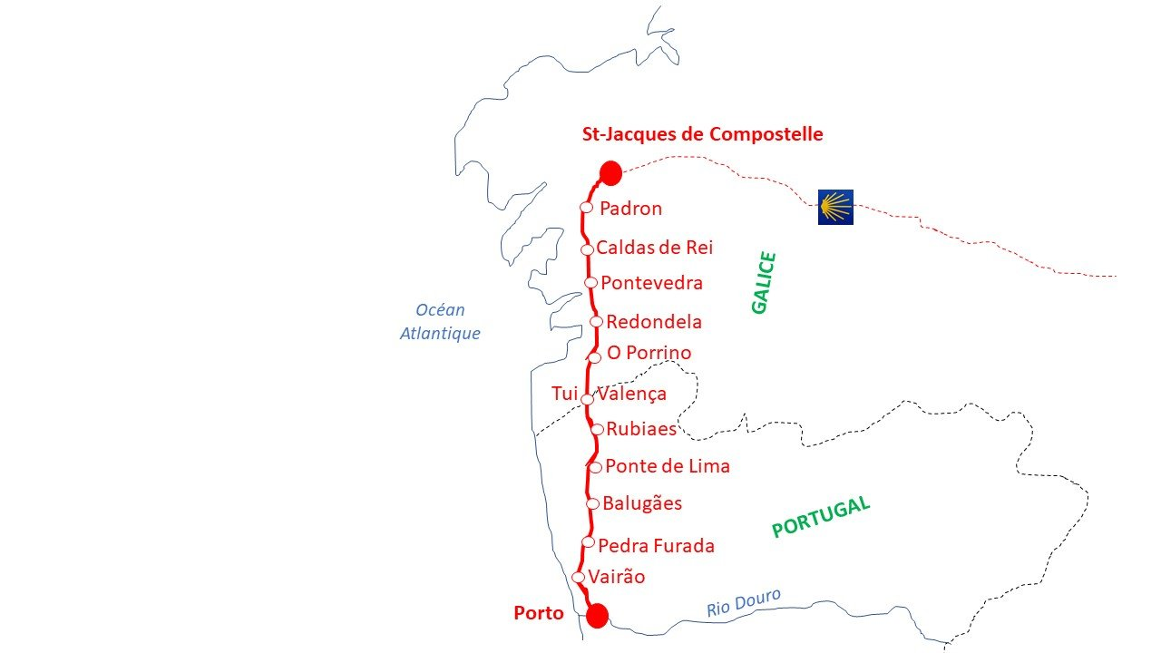 Carte Porto Santiago