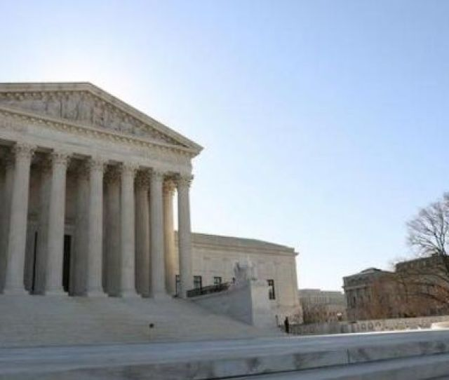 The U S Supreme Court Building Is Seen In Washington U S March 26 2019