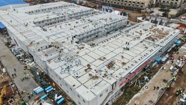 China Completes Emergency Hospital in 9 Days For Virus Outbreak ...